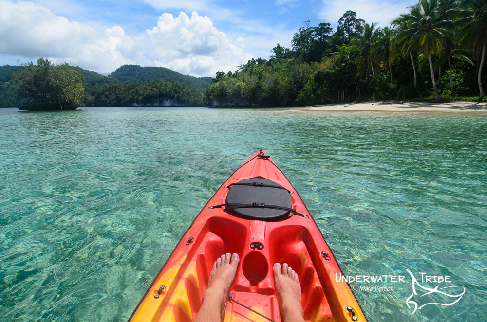 Kayaking, Raja Ampat